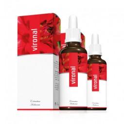 2x Vironal Kräuterkonzentrat Tropfen 30 ml