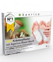 ABM Kräuterpflaster mit Agaricus Blazei 2 Pflaster