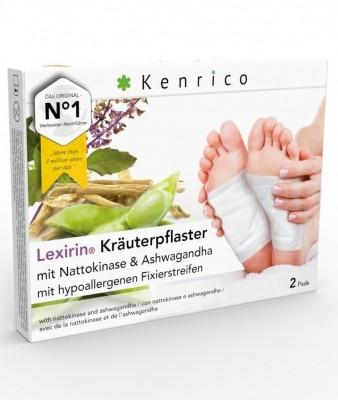 Lexirin® Kräuterpflaster mit Nattokinase und Ashwagandha 2 Pflaster