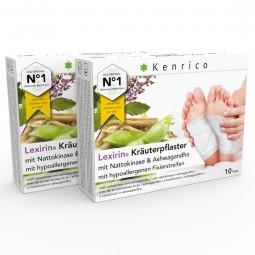 Lexirin® Kräuterpflaster mit Nattokinase und Ashwagandha 20 Pflaster