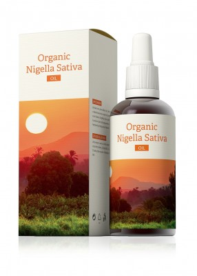 Organic Nigella Sativa Oil 100 ml*