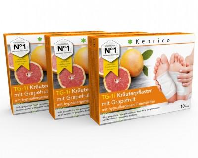 TG-1i Kräuterpflaster mit Grapefruit 30 Pflaster