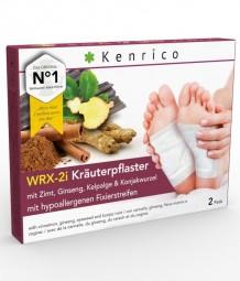 WRX-2i Kräuterpflaster mit Zimt, Ginseng, Kelpalge und Konjakwurzel 2 Pflaster