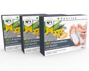 ZEO Kräuterpflaster mit Zeolith 30 Pflaster
