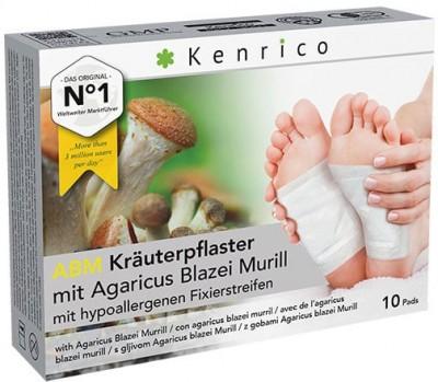 ABM Kräuterpflaster mit Agaricus Blazei 10 Pflaster
