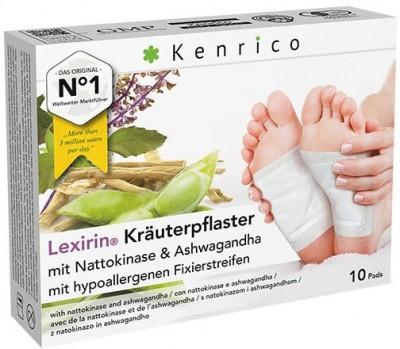 Lexirin® Kräuterpflaster mit Nattokinase und Ashwagandha 10 Pflaster
