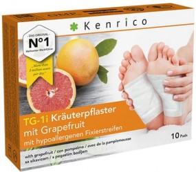 TG-1i Kräuterpflaster mit Grapefruit 10 Pflaster