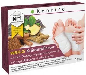 WRX-2i Kräuterpflaster mit Zimt, Ginseng, Kelpalge und Konjakwurzel 10 Pflaster