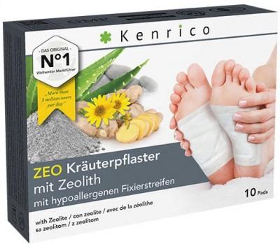 ZEO Kräuterpflaster mit Zeolith 10 Pflaster